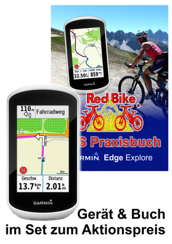 Garmin Edge Explore inkl. Buch