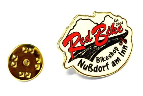 Red Bike Pin
